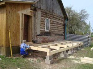 Пристройка к деревянному дому своими руками – полная инструкция
