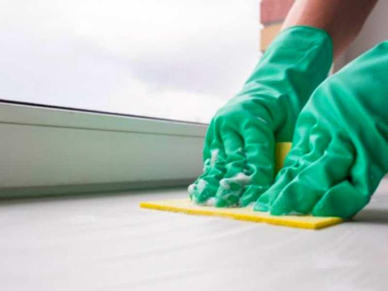 чем отмыть грунтовку с подоконника