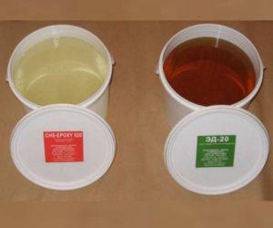 Эпоксидные красители достаточно устойчивы к химическим агрессивным воздействиям