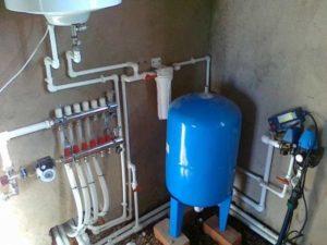 Автономное водоснабжение частного дома – схема