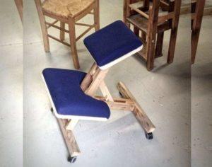 Как сделать ортопедический коленный стул своими руками + чертежи