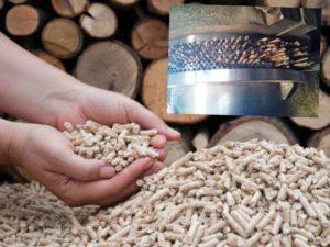 Подготовленное сырье требуется засыпать в гранулятор, где оно будет спрессовано.