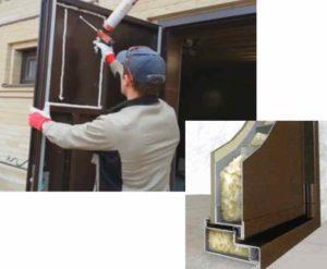 Как утеплить входную железную дверь своими руками + пошаговая инструкция