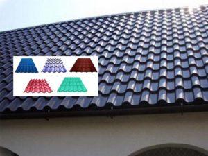 Виды металлочерепицы для крыши: фото и названия