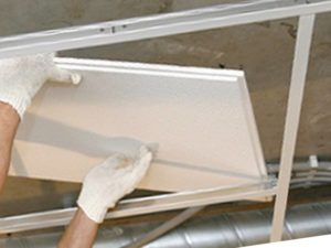 Монтаж подвесного потолка – особенности процесса