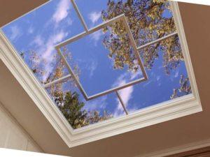 Есть возможность «спрятать» большие изъяны потолка (основание), к примеру, трещины или высотные перепады.