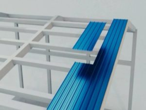 Производство конструкций быстроразводимого типа с применением панелей