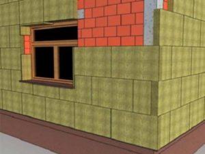 Утепление фасада минватой – технология проведения работ