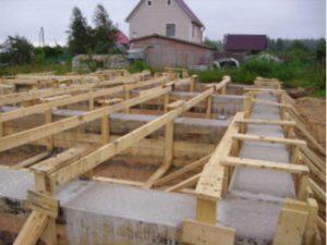 Фундаментная свайная система из железобетонных забивных строительный свай