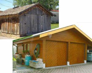 Как сделать деревянный гараж своими руками + чертежи