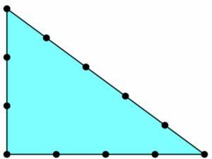Как сделать египетский треугольник с применением веревки