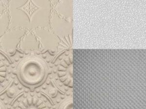 Флизелиновые обои на потолок + фото