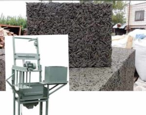 Оборудование для изготовления арболитовых блоков + фото