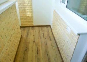 Как положить плитку на пол на балконе