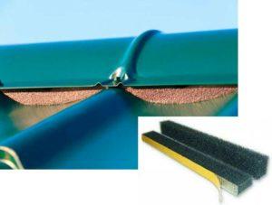 За счет применения таких ленто можно в эксплуатационном процессе поддерживать определенный режим температуры.