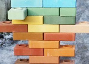 Цветной силикатный кирпич – разновидности и методы производства