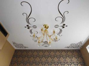 Функциональность – стикеры применяют и в роли декоративных элементов, а еще для ремонтных работ для натяжного потолочного полотна.