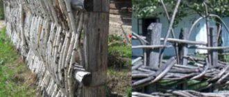 Забор можно с легкостью возводить самостоятельно, и при это без использования какой-то строительной техники.