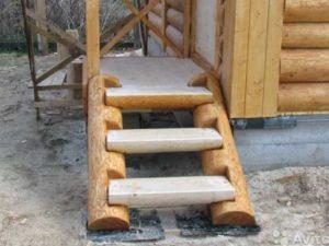 Ширина ступени (проступи) от 0.3 метров.