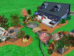 Совмещение огорода и сада