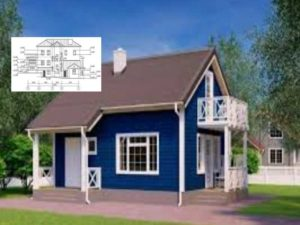 Дом, чертежи и планы + фото