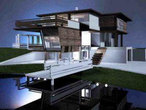 Три жилые одиннадцатиэтажные дома и всевозможное размещение на первом этаже и остальных помещениях офисно-торгового типа.
