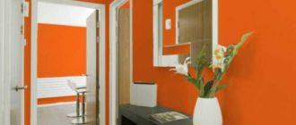 В тусклом и темном помещении даже маленький акцент оранжевого цвета станет придавать интерьеру живости, а еще будет наполнять яркостью.