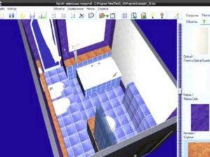 Программа для дизайна ванной комнаты в 3Д