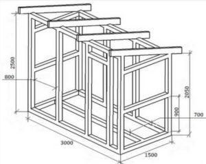 Сварные – сделаны по индивидуальным проектам из листового материала.