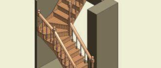 Глубина обычных прямых ступенек – она будет в диапазоне от 20 до 40 см, и безопасным будет, когда 70% ступни лежит на опоре.