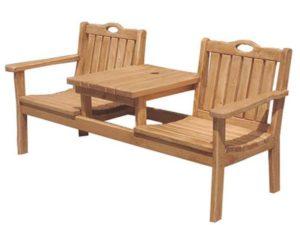 Чертежи садовой скамейки из дерева с размерами