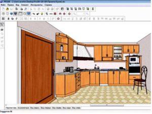 Такое приложение требуется для проектирования дизайна интерьера