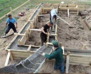 Конструкции фундаментов под дом