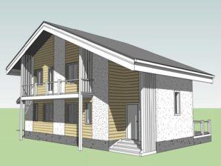 Строительный план упрощенный, в отличие от капитальных построек.