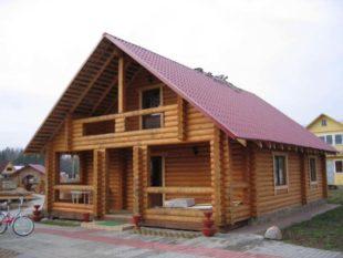 Деревянные дома из лиственницы: особенности, свойства и в чем их минус