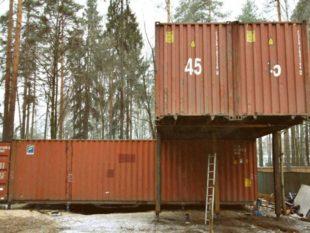 Дома из контейнеров признаны как сейсмически устойчивые строения