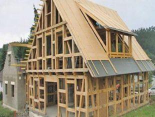 Легкость всей домовой конструкции