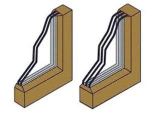 Чем отличаются двухкамерные окна от трехкамерных стеклопакетов? Обзор
