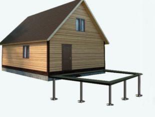 Как пристроить кухню к деревянному дому