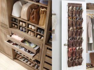 специальные коробки для хранения обуви