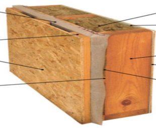 Доски с размером 5*10*0.6 были использованы для всех стен