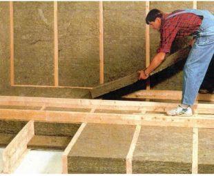 Для утепления следует применять теплоизоляционные плитные материалы на базе базальтовых волокон