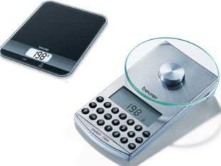Высокоточные кухонные весы (модель КS36) очень точно измеряет любые продукты