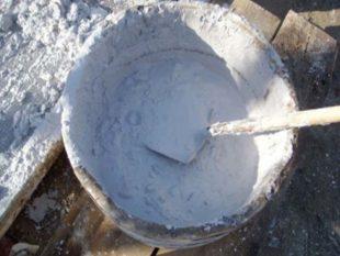 Гашеная – обладает химической формулой