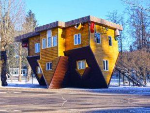Как построить дом вверх ногами + фото