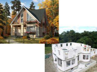 Проекты домов из дерева – чем они лучше газобетонных коттеджей