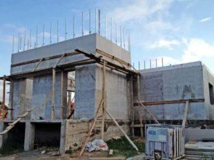 Дома из бетона и пенопласта – особенности американской технологии