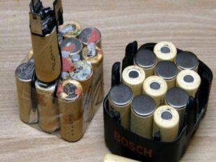 Никель-металлогидридные батареи следует держать в полной мере заряженными