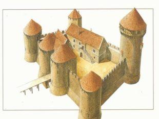 Замок – составные элементы