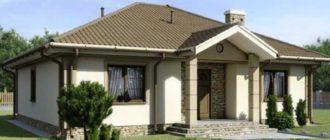 Небольшая стоимость возведения – для одноэтажных домов